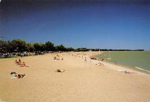 Canada Gimli Manitoba Sun and Swim Beach Playa