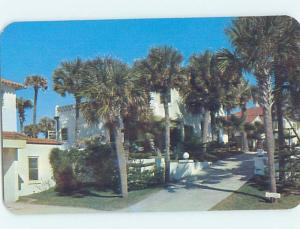 Unused Pre-1980 COTTAGE SCENE Daytona Beach Florida FL c2488