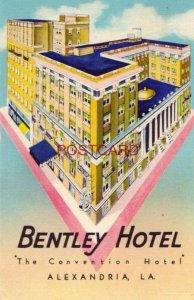 1950 HOTEL BENTLEY - ALEXANDRIA, LA. - Coleman J Hudson, General Mgr.
