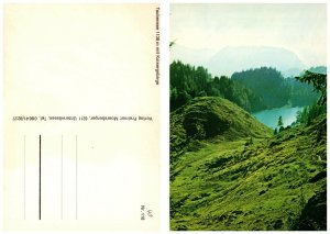 AUSTRIA Postcard Kaiser Mountains - Taubensee Lake (A14)