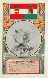 Austria-Hungary , 1900-10s ; FRANZ JOSEPH I