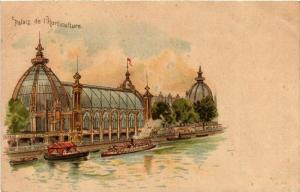 CPA PARIS EXPO 1900 Palais de l'Horticulture (576110)