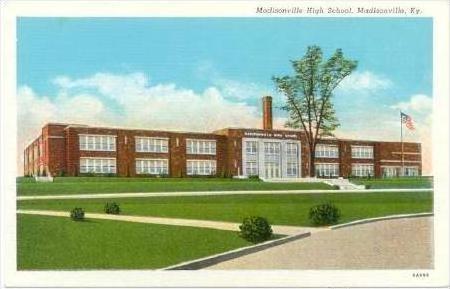 High School, Madisonville , Kentucky, 1910s