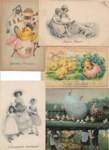 Happy Easter Vintage Postcard Lot of 20 01.16