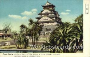 Western Japa Japan Osaka Castle 1584 Western Japa Osaka Castle 1584