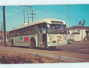 Chrome HISTORICAL SCENE Los Angeles California CA AH3326