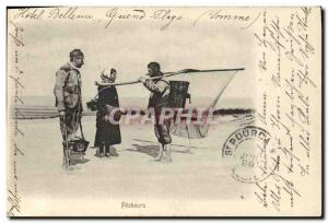 Postcard Old Fishing Pecheurs