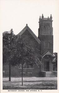 North Carolina Red Springs Methodist Church