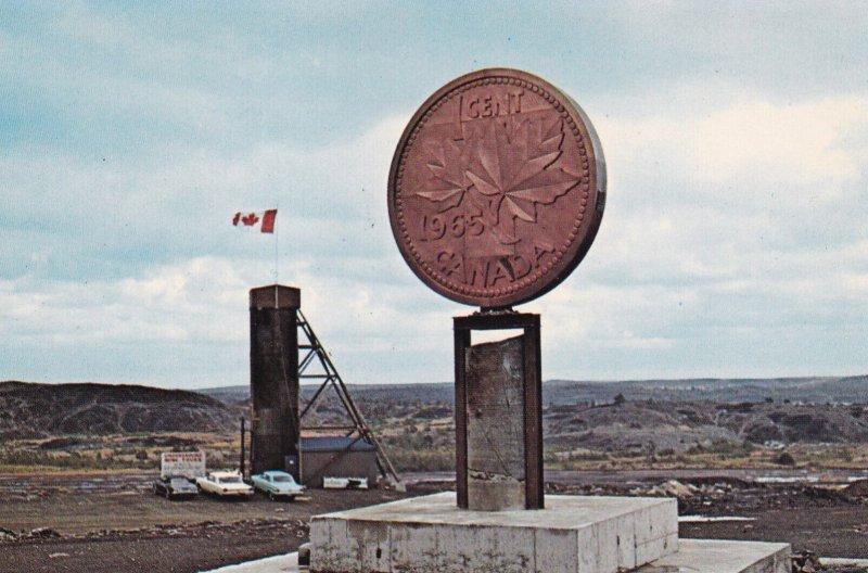 SUDBURY, Ontario, Canada, 1950-1960s; The Big Penny, The Canadian Centennial ...