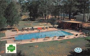 Shreveport Louisiana~Tanglewood Lodge Motel~Teeter Totter~Merry Go Round~1960s