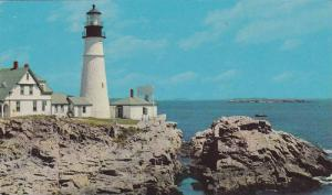 Portland Head Light, First Lighthouse Erected By The United States, Portland,...