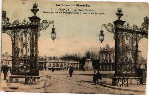 CPA Nancy-La Place Stanislas-Statue du roi de Pologne (188132)