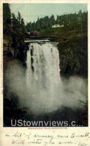 Snoqualmie Falls, WA Post Card     ;     Snoqualmie Falls, Washington