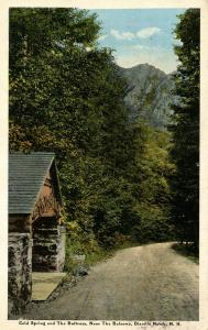NH - Dixville Notch, Cold Spring and The Buttress