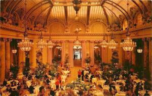 San Francisco 2 Men @ Far Entrance~Vaulted Celings~Sheraton Palace Garden Court