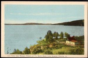 Ontario Lake Helen near NIPIGON on The North Shore LAKE SUPERIOR - PECO Postcard