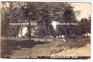 RPPC, House in the Trees, Seneca Falls NY