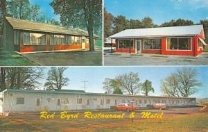 Keedysville Maryland Red Byrd Restaurant Multiview Vintage Postcard K59832