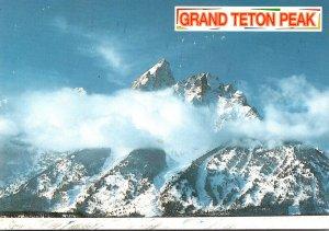 Wyoming Grand Teton National Park Grand Teton Peak