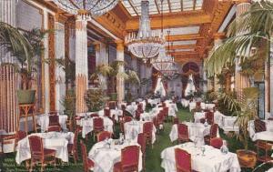 California San Francisco Hotel St Francis White and Gold Room Interior 1910