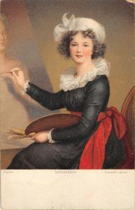 BR95073 selbstbildnis elisabeth lebrun 29826 edition stengel painting postcard