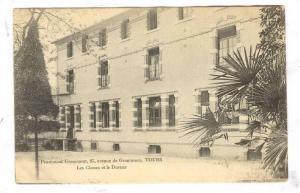 Tours , France , PU-1909 ; Pensionnat Grammont,27,avenue de Grammont,Les Clas...