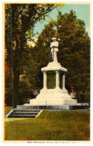 Nova Scotia Truro , War Memorial