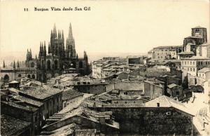 CPA Burgos Vista desde San Gil SPAIN (744073)
