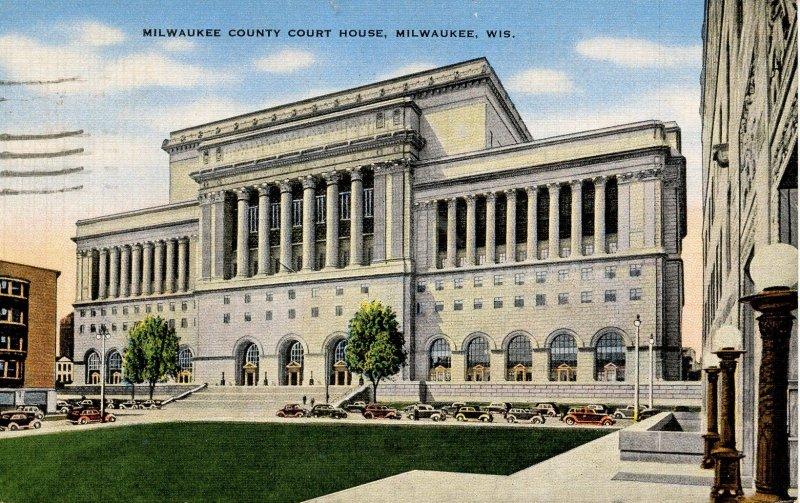 WI - Milwaukee. Milwaukee County Courthouse
