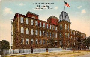 26076 MA, Newburyport, 1915, Towle's Manufacturing Co., Silversmiths, fl...