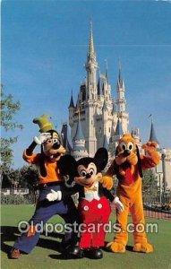 Mickey Mouse Walt Disney World, FL, USA 1981