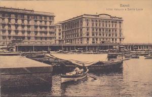 Italy Napoli Hotel Vesuvio e Santa Lucia
