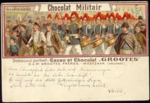 Germany Military Music Band (1900s) Grootes Cocoa