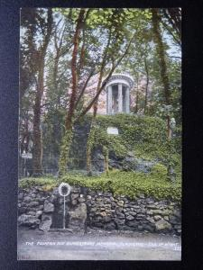 Isle of Wight BLACKGANG The Fountain & Shakespeare Memorial - Old Postcard