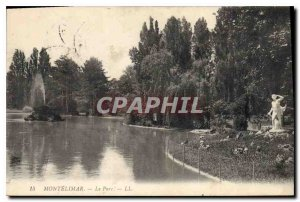 Postcard Old Montelimar Park