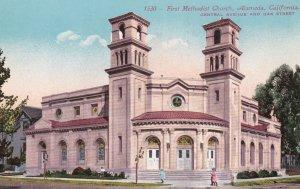 First Methodist Church , Central Ave & Oak St. , ALAMEDA , California ; 00s-10s