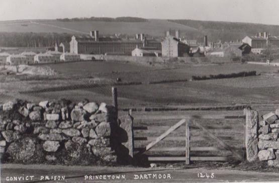 Convict Prison Dartmoor Real Photo 1245 Postcard
