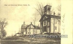 High & Grammar School Calais ME 1906
