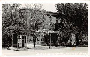 F56/ Central City Nebraska RPPC Postcard 1947 Merrick Hotel