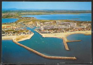 Carnon Plage – Herault, France, writing on back. Not mailed