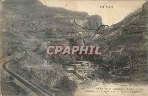 Old Postcard The Bessee (1024) The Alps Surroundings Line Gap Briancon Gorges...