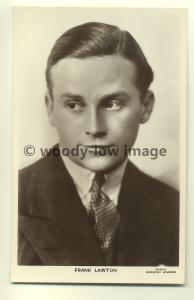 b0011 - Film Actor - Frank Lawton - Picturegoer Postcard 494