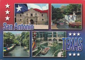 Alamo and Riverwalk - San Antonio TX, Texas - pm 2001