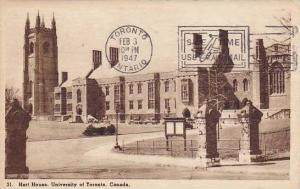 Hart House, University Of Toronto, Ontario, Canada, PU-1947