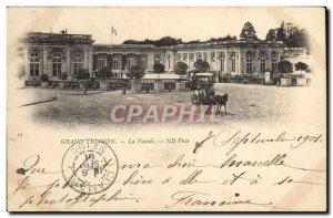 Old Postcard Grand Trianon The Facade