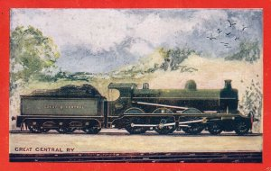 Great Central Railway 4-6-0 Train JG Robinson Wrench Series Postcard