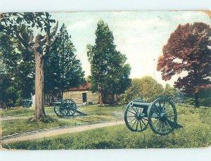 Divided-back MILITARY Chickamauga Park - Fairview & Fort Oglethorpe GA AF8790