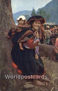 Cuzco, Peru India Tipica de Pisac, Native Girl  India Tipica de Pisac, Native...
