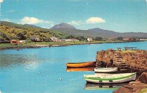 Paps of Jura from Craighouse Pier Isle of Jura Scotland, UK 1980
