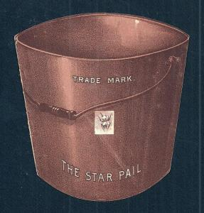 VICTORIAN TRADE CARD The Star Pail
